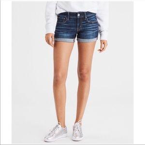 NWT AEO | Next Level Denim Midi Jean Shorts Sz. 0